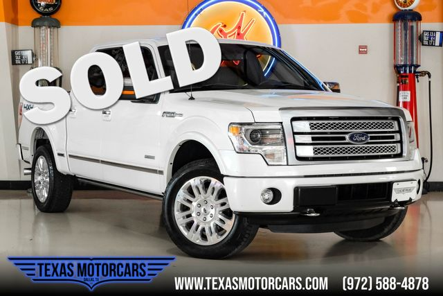 2014 Ford F-150 Platinum 4x4 in Plano, TX 75075