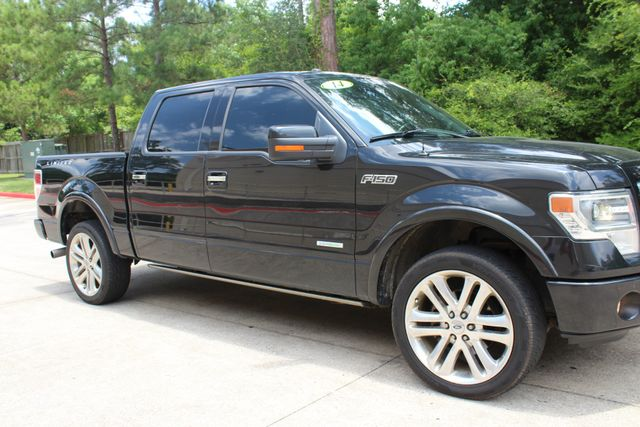 2014 Ford F-150 Limited 4X4 EcoBOOST CONROE, TX 1