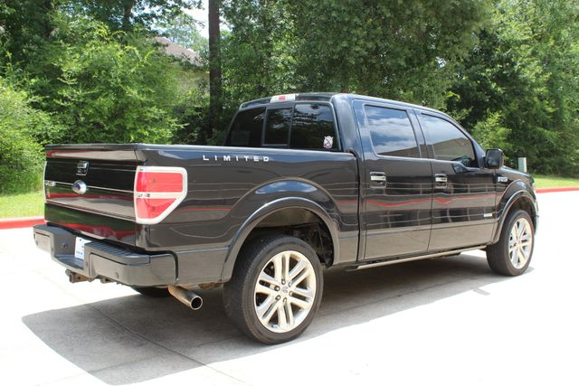 2014 Ford F-150 Limited 4X4 EcoBOOST CONROE, TX 16