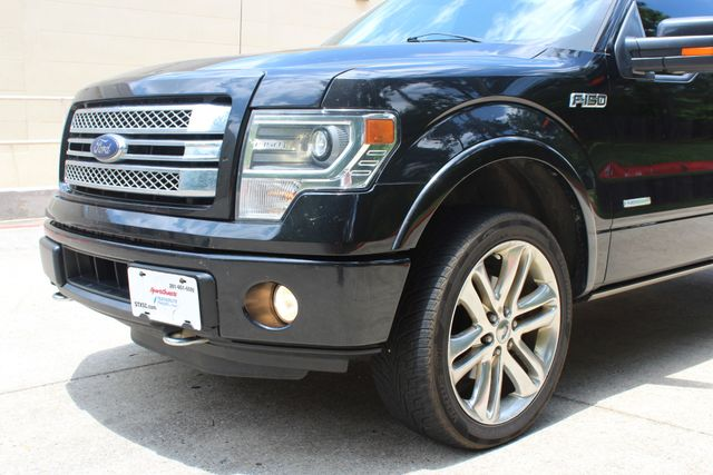 2014 Ford F-150 Limited 4X4 EcoBOOST CONROE, TX 4