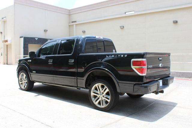 2014 Ford F-150 Limited 4X4 EcoBOOST CONROE, TX 8