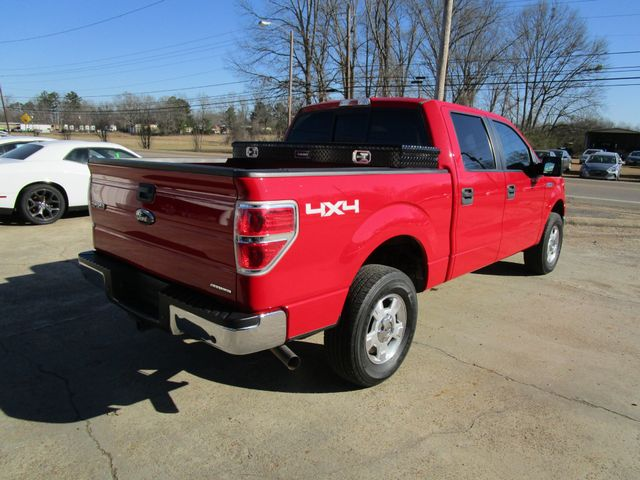 2014 Ford F-150 Crew Cab 4x4 XLT Houston, Mississippi 4