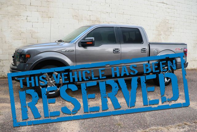 2014 Ford F-150 FX4 SuperCrew 4x4 EcoBoost w/Luxury Pkg, Backup Cam, Heated/Cooled Seats and Moonroof in Eau Claire, Wisconsin 54703