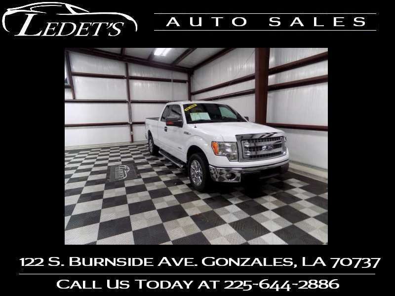 2014 Ford F-150 XLT - Ledet's Auto Sales Gonzales_state_zip in Gonzales Louisiana