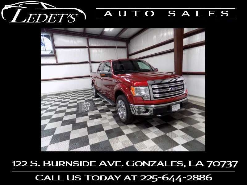 2014 Ford F-150 Lariat - Ledet's Auto Sales Gonzales_state_zip in Gonzales Louisiana