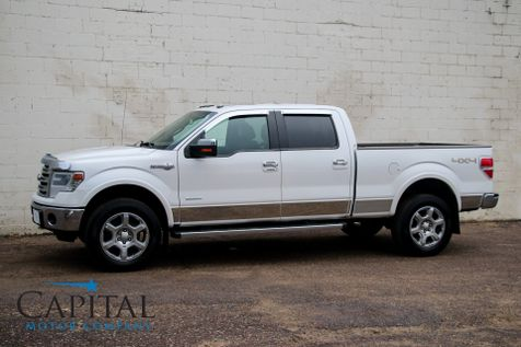 2014 Ford F-150 King Ranch Super Crew 4x4 w/EcoBoost, Navigation, Heated Seats, Moonroof & 20