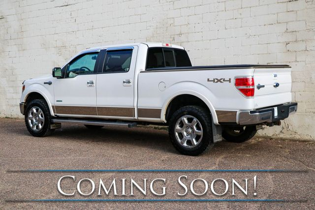 "2014 Ford F-150 King Ranch Super Crew 4x4 w/EcoBoost, Navigation, Heated Seats, Moonroof & 20"" Wheels in Eau Claire, Wisconsin 54703"