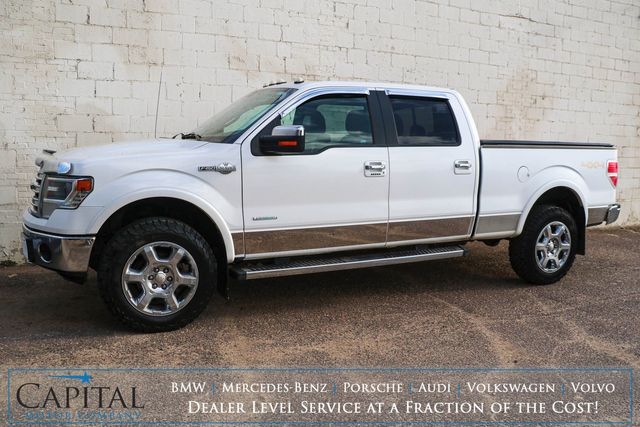 """2014 Ford F-150 King Ranch Super Crew 4x4 w/EcoBoost, Navigation, Heated Seats, Moonroof & 20"""" Wheels in Eau Claire, Wisconsin 54703"""