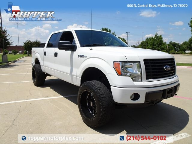 2014 Ford F-150 STX LIFT/CUSTOM WHEELS AND TIRES