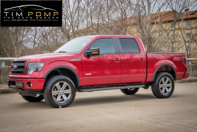 2014 Ford F-150 FX4 sunroof heated cooled leather seats navigation