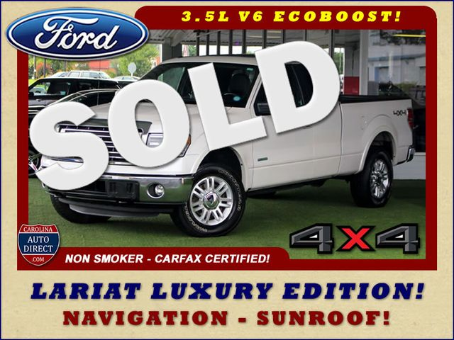 2014 Ford F-150 LARIAT LUXURY SuperCab 4x4 - NAVIGATION - SUNROOF! Mooresville , NC 0