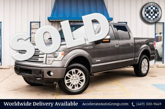 2014 Ford F-150 PLATINUM 4X4 CLEAN CARFAX NAV LOADED VERY NICE! in Rowlett