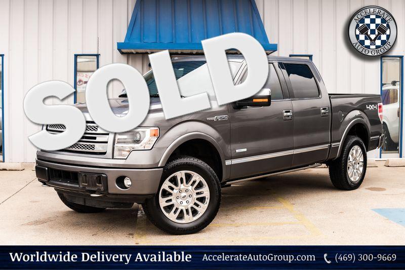 2014 Ford F-150 Platinum in Rowlett Texas