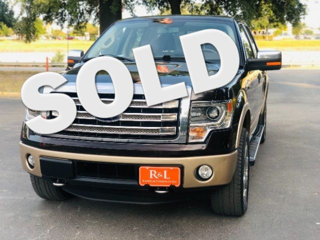 2014 Ford F-150 King-Ranch SuperCrew 5.5-ft. Bed 4WD