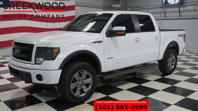 2014 Ford F-150 FX4 Lariat 4x4 White Leather Nav Sunroof 20s CLEAN