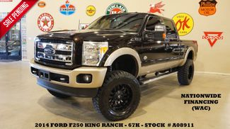 2014 Ford F-250 King Ranch 4X4 LIFTED,ROOF,NAV,FUEL WHLS,67K in Carrollton, TX 75006
