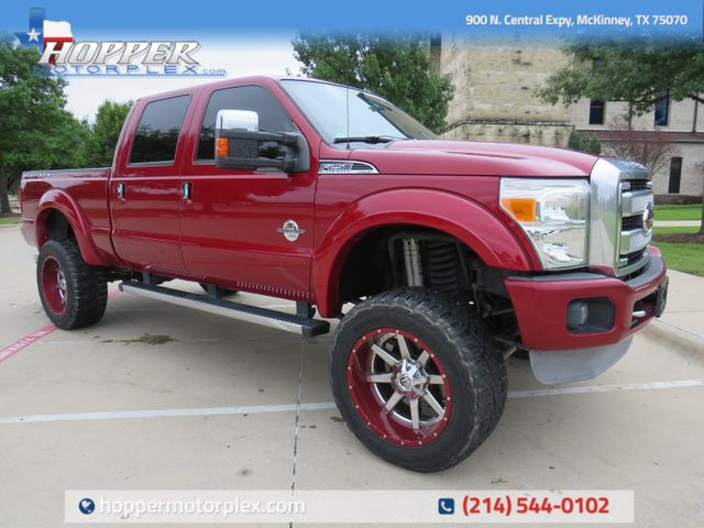 2014 Ford F-250SD Platinum CUSTOM LIFT/WHEELS AND TIRES