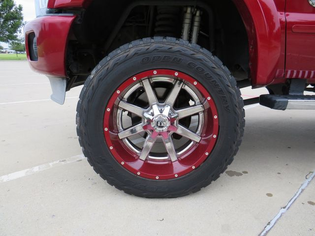 2014 Ford F-250SD Platinum CUSTOM LIFT/WHEELS AND TIRES in McKinney, Texas 75070