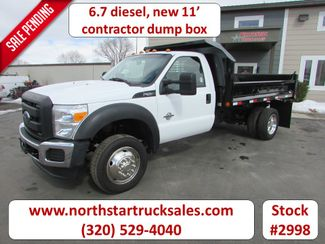 2014 Ford F-550 6.7 Contractor Dump Truck in St Cloud, MN