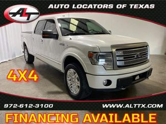 2014 Ford F-150 Platinum 4X4 in Plano, TX 75093