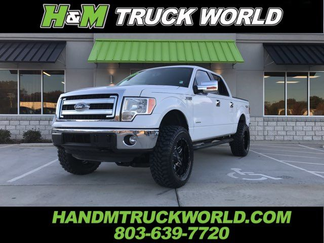 """2014 Ford F150 XLT 4X4 """"LIFTED"""" 20'' BLACK FUEL WHEELS ON 35'S"""