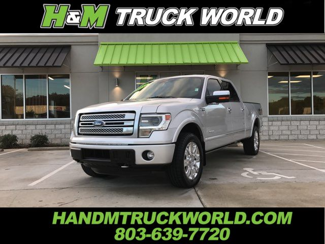 "2014 Ford F150 Platinum ""SUPER-CREW"" 4X4"