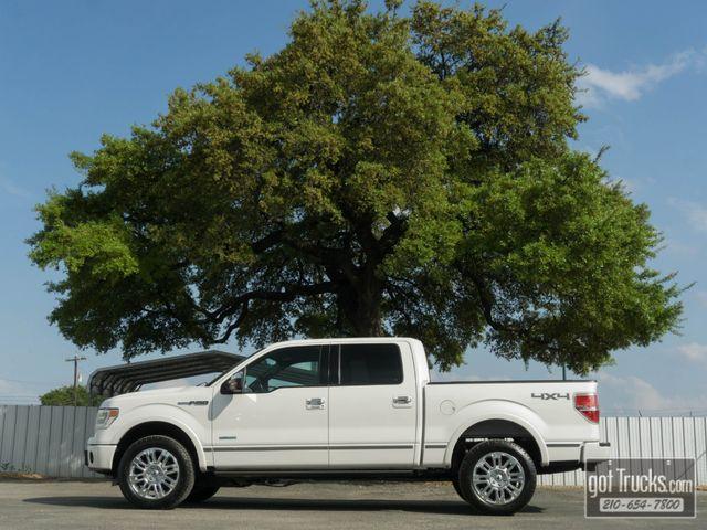 2014 Ford F150 Crew Cab Platinum EcoBoost 4X4
