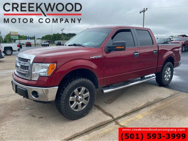 2014 Ford F-150 XLT 4x4 Crew Cab 5.0L Low Miles Leveled CLEAN