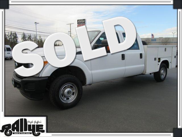 2014 Ford F250 XL C/Cab 4WD Utility in Burlington, WA 98233