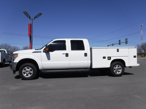 2014 Ford F250 Crew Cab XLT 4x4 with New 8' Knapheide Utility Bed in Ephrata, PA