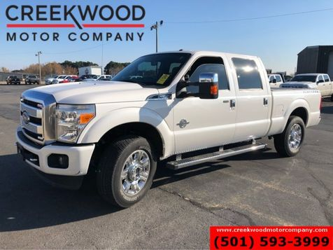2014 Ford Super Duty F-250 Platinum Lariat 4x4 Diesel Nav Sunroof Chrome 20s in Searcy, AR