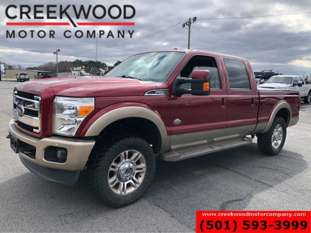 2014 Ford Super Duty F-250 King Ranch 4x4 Diesel New Tires 20s Roof Nav NICE
