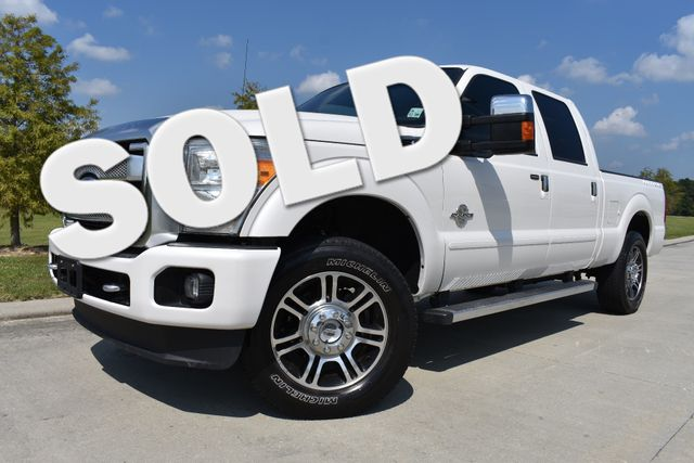 2014 Ford F250SD Platinum Walker, Louisiana