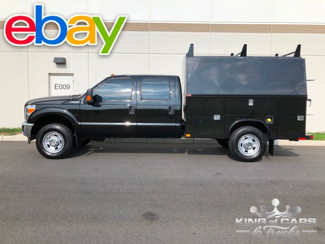 2014 Ford F350 4x4 Crew CAB WALK-IN UTILITY 77K MILES 6.2L V8 MINT in Woodbury, New Jersey 08096