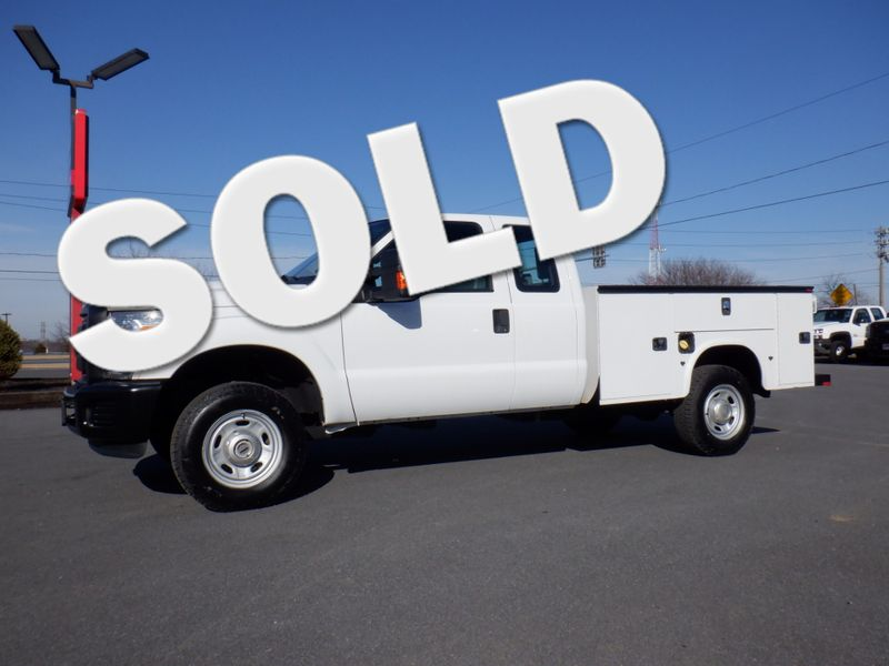 2014 Ford F350 Extended Cab Utility 4x4 in Ephrata PA