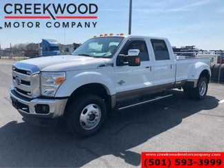 2014 Ford Super Duty F-450 Lariat 4x4 Diesel Dually White Nav Roof New Tires in Searcy, AR 72143