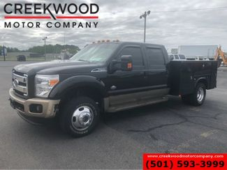 2014 Ford Super Duty F-450 King Ranch 4x4 Diesel Dually Utility Flatbed NICE in Searcy, AR 72143