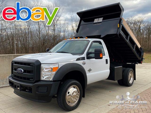 2014 Ford F550 4x4 6.7l Diesel RCAB MASON DUMP ONLY 21K MILES WOW