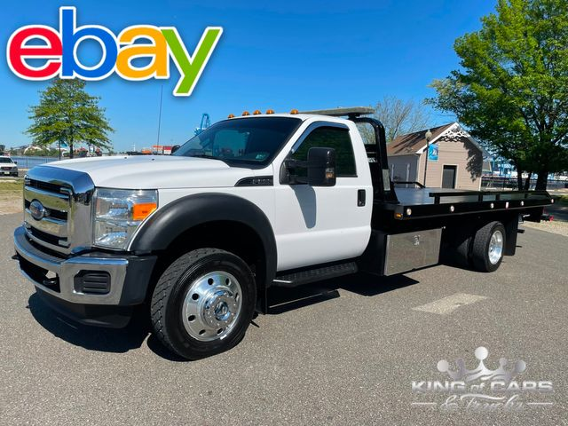 2014 Ford F550 4x4 6.8l V10 Gas WITH WHEELIFT LIKE NEW in Woodbury, New Jersey 08093