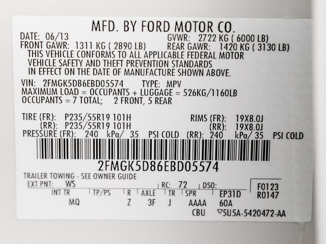 2014 Ford Flex Limited Burbank, CA 9