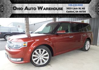 2014 Ford Flex Limited AWD Navi 3rd Row Clean Carfax We Finance | Canton, Ohio | Ohio Auto Warehouse LLC in Canton Ohio