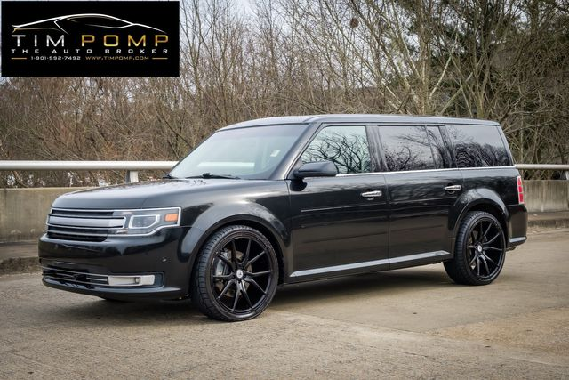 2014 Ford Flex Limited w/EcoBoost READ DVD IN HEADRST PANO ROOF