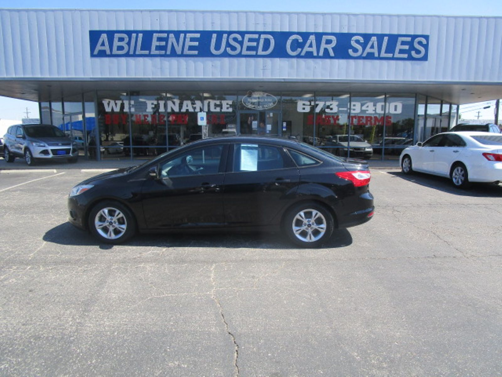 Used Cars Abilene Tx >> 2014 Ford Focus Se Abilene Tx Abilene Used Car Sales