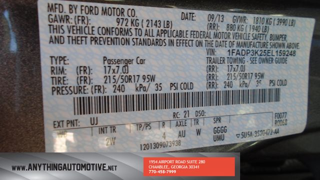 2014 Ford Focus SE Chamblee, Georgia 25