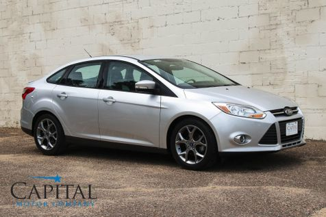 2014 Ford Focus SE with Appearance Package, Heated Seats, 2-Tone Interior, Bluetooth Phone & Audio in Eau Claire