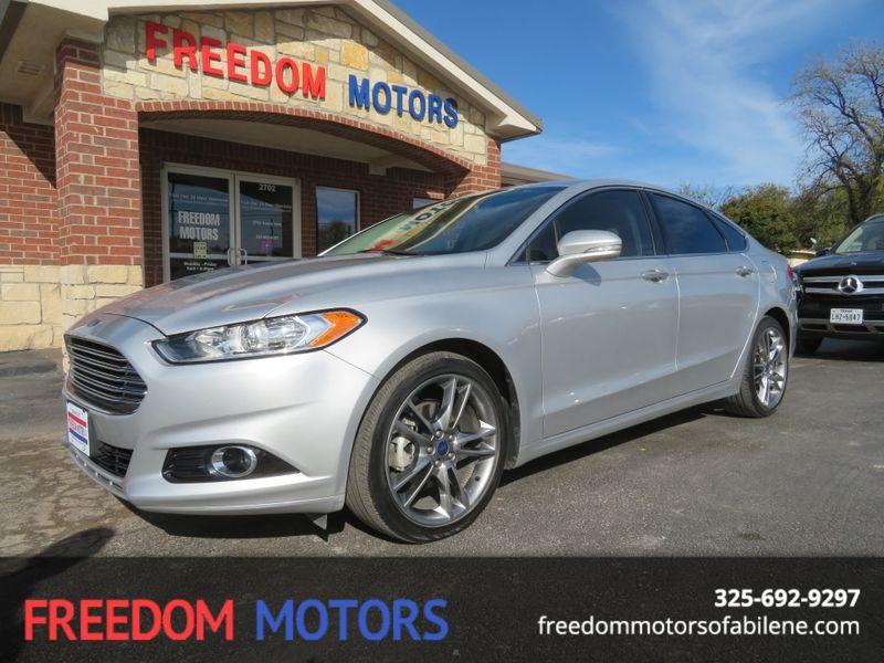 2014 Ford Fusion Titanium Abilene Texas Freedom Motors