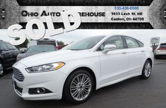 2014 Ford Fusion SE Leather EcoBoost Up To 33MPG Highway We Finance | Canton, Ohio | Ohio Auto Warehouse LLC in Canton Ohio