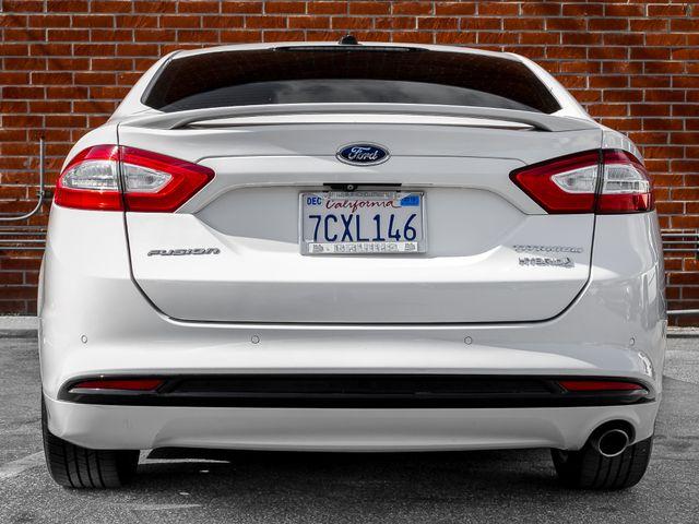 2014 Ford Fusion Hybrid Titanium Burbank, CA 3