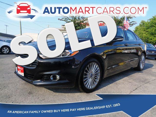 2014 Ford Fusion Titanium   Nashville, Tennessee   Auto Mart Used Cars Inc. in Nashville Tennessee