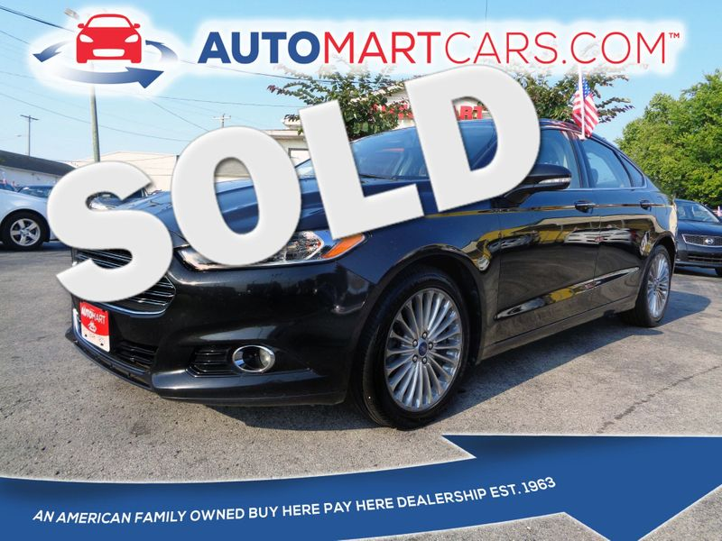 2014 Ford Fusion Titanium | Nashville, Tennessee | Auto Mart Used Cars Inc. in Nashville Tennessee